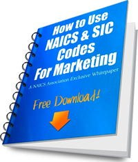 How to use NAICS and SIC for Marketing-free download.